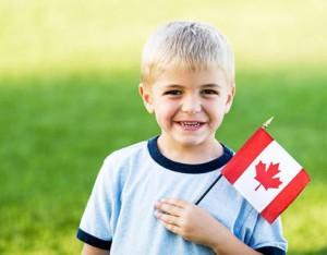 Канада, как среда воспитания детей