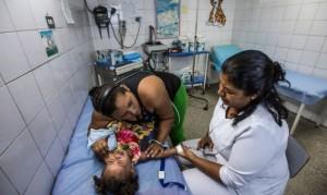 Кризис здравоохранения в Венесуэле.