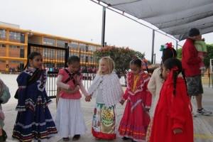 Детские сады в Мексике.