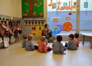 Детский сад в Испании.