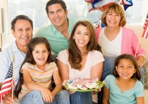 Американская семейная жизнь, как важная социальная ценность
