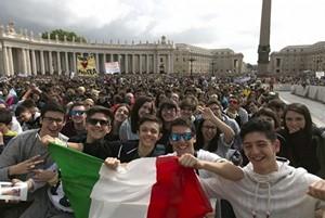 Итальянцы, встающие перед выбором…