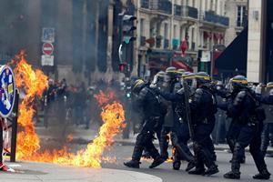Франция— страна протестов
