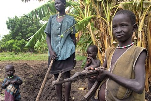 South Sudan Desperate Scenes